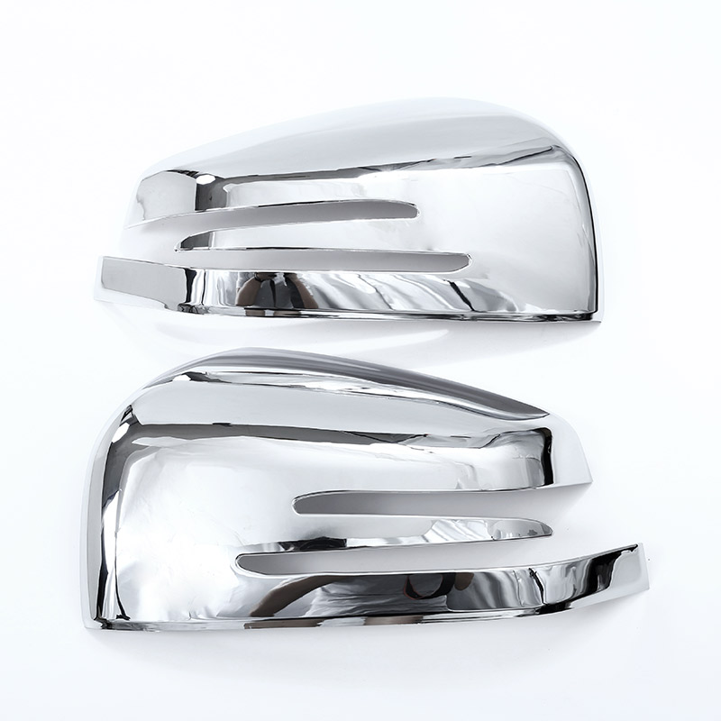 2x For Mercedes benz ML GL 2013 2016 GLE GLS Class 2015 2017 ABS Chrome Car