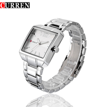 c5b863dba8d8 CURREN hombres deportes nuevos de moda relojes de cuarzo analógico hombre de  negocios de calidad reloj de acero luminosa puntero.