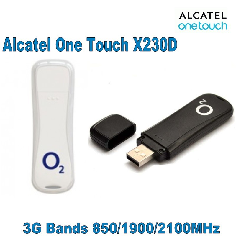 Lot Of 100pcs Alcatel X230d Be Online All The Time 3G Internet Key,DHL Shipping