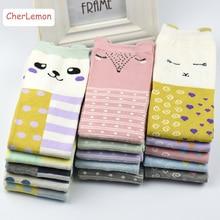 New Arrival Cute Cartoon Autumn Winter Women s Fashion Cotton Socks Soft Breathable Female Colorful Socks