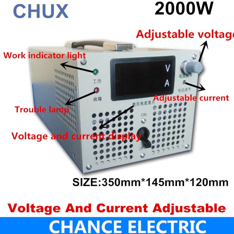 Switching Power Supply 0-12V 24V 27V 36V 48V 50V 60V 70V 80V 90V 110V 220V 300V 400V 500V 600VDC Voltage adjustable power supply 220v to 60v 70v 80v 90v 110v 480w switching power supply dc power adapter monitor power supply