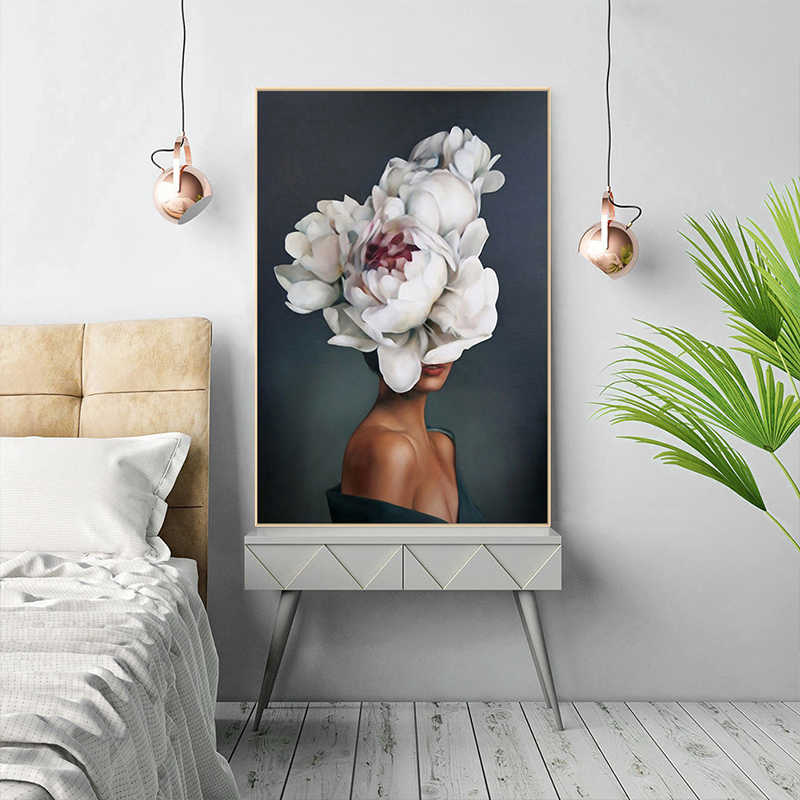 Home Decoration Wall Picture 1PC Wall Art Creative For Living Room Canvas Painting No Frame Popular Printed High Quality Poster