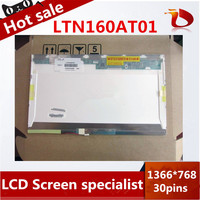 High quality A+16 inch lcd screen LTN160AT01 LTN160AT02 1366*768 LAPTOP LCD Display screen For ACER ASPIRE 6920G 6930G 6935G