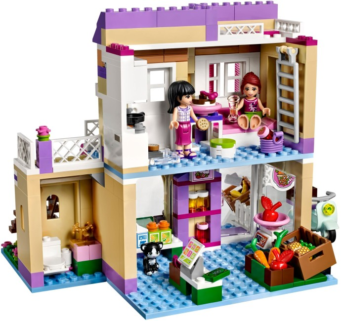 Friend Series City Food Market Building Blocks Friends Bricks Gift Toys Compatible With Legoe Friends 41108 dropshipping 18 inch doll clothes and accessories 15 styles princess skirt dress swimsuit suit for american dolls girl best gift d3