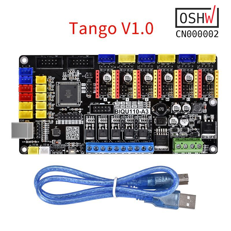 Open Source Tango V1.0 Carte Mère Mise À Niveau Rumba Avec TMC2208 TMC2130 A4988 DRV8825 Pour 3D Pièces D'imprimante Reprap Mendel Heatbed