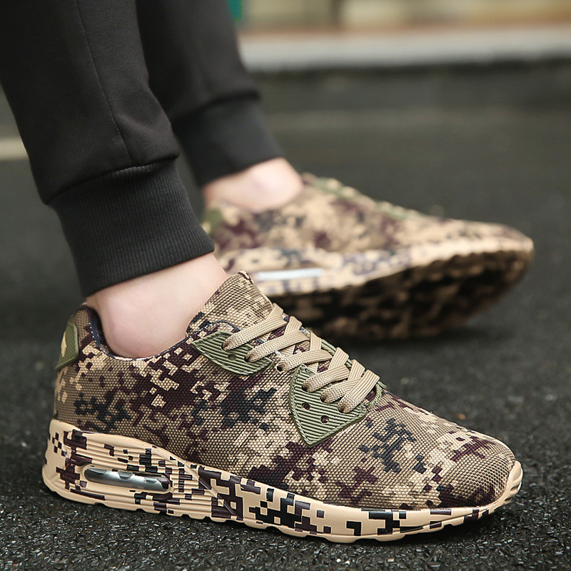 Running Shoes Men Sneakers Couples Sport Athletic Zapatillas Outdoor Excsies Camouflage Breathable Trainer Shoes for men