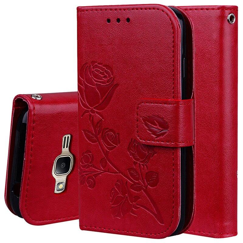 J1 Mini Prime Flip wallet Leather Case for samsung galaxy j1 mini prime case cover card wallet case for samsung J1 Mini Prime