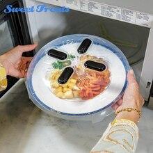 Sweettreats Пластик холодильник Микроволновая Печь анти-покрытие с напылением крышка сохранение тепла Пособия по кулинарии крышки для кастрюль Кухонные Принадлежности Крышка для миски с едой