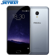 Original Meizu MX6 MTK Helio X20 Deca Core Mobile Phone 4GB RAM 32GB ROM 5.5 inch 1920x1080p 12MP IMX386 Camera mTouch Dual SIM