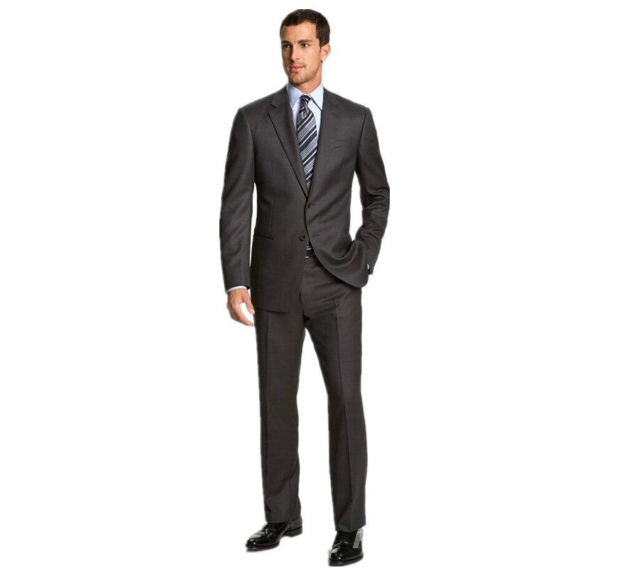 2f25b33b1a960 Mężczyźni na Miarę garnitury Slim Fit Groom Smokingi Garnitury Groomsman  Mężczyźni Garnitury Ślubne Oblubieniec (Kurtka + Spodnie)