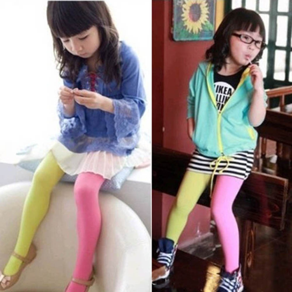 Trendy-Candy-Color-Baby-Girls-Kids-Two-colors-Seamless-Pantyhose-Tights-Stockings-Dropshipping-1