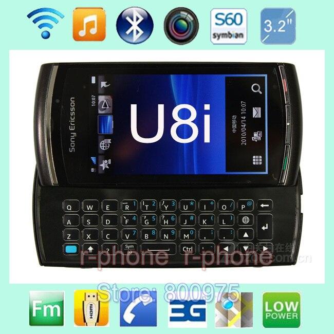bilder für U8 original sony ericsson vivaz pro u8i handy entsperrt 3g wifi gps 5mp refurbished smartphone