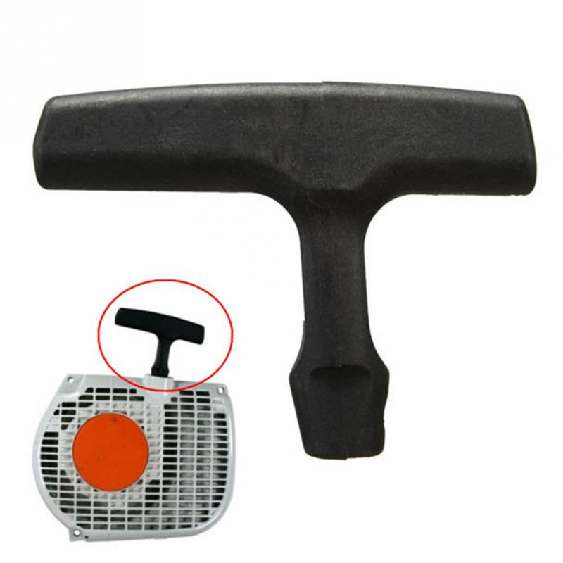 Universal Chain Saw Brush Cutter Recoil Starter Pull Handle Garden Machine Fitting