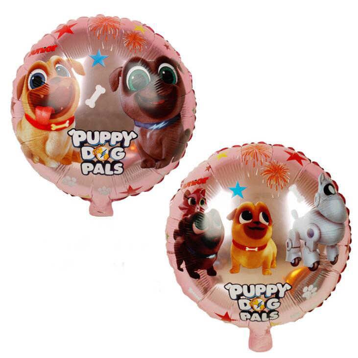 1 個子犬犬仲間ホイルバルーン誕生日パーティーの装飾兄弟ビンゴと Rolly グロボスのおもちゃバルーン