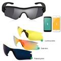 Gafas de Sol Bluetooth Headset auriculares Estéreo de Auriculares Inalámbricos de Música Llamada Telefónica Lentes Polarizadas Gafas de Auriculares para el Teléfono