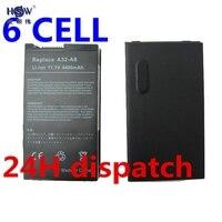 Batteria del computer portatile per ASUS N80VnFOR HSW Asus N81 N81Vg, N81Vp, Z99, Z99Fm, Z99H, Z99J, Z99Jc, Z99Jn, Z99Jr, Z99Sc, X61, X61W, X61S, X61GX, X61SL