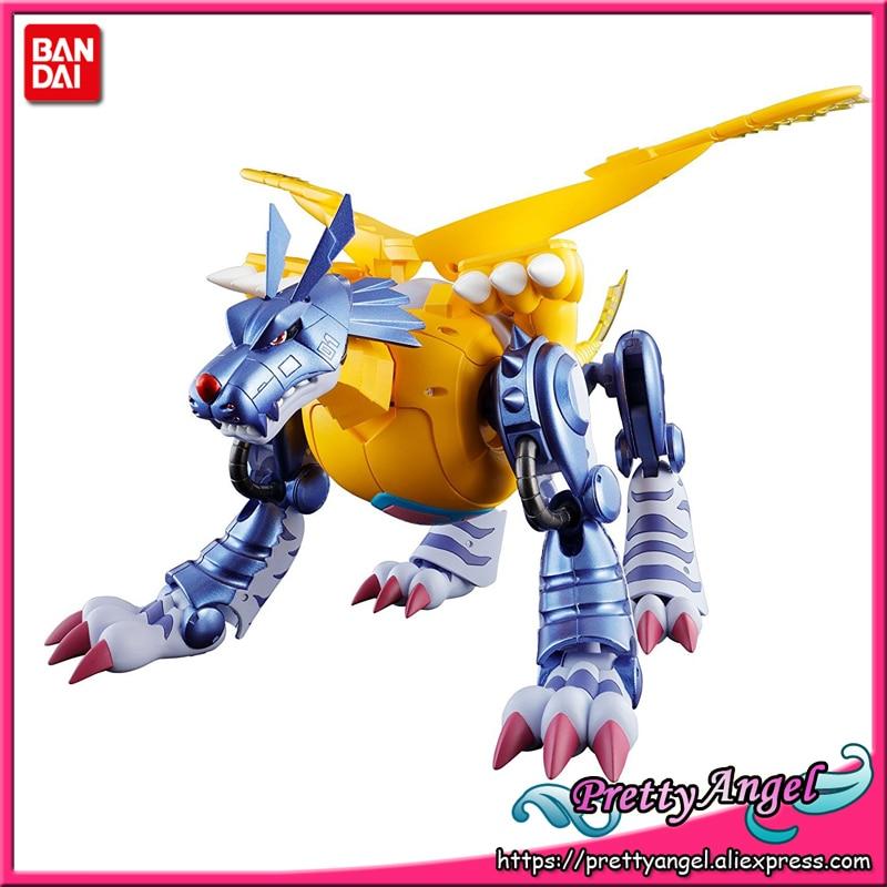 PrettyAngel - Genuine Bandai Tamashii Nations Digivolving Spirits 02 Digimon Adventure Metal Garurumon Action Figure цена и фото