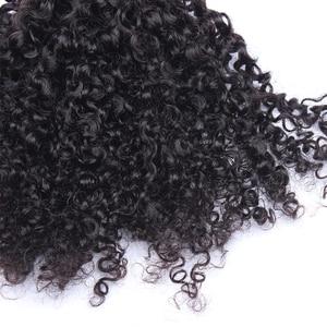 Image 5 - ブラジル変態人毛 1 または 3 バンドル 3B 3C 毛織り非レミー自然な人間の毛髪延長キャラ