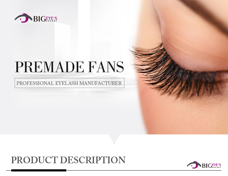 12 Rows Russian Volume Lashes Handmade Eyelashes Extension Pre Made Fans  High Quality 3D 4D 5D 6D Free Shipping