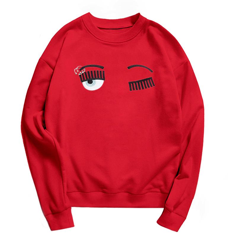 HTB10cZYSXXXXXarXFXXq6xXFXXXf - Eyebrow Embroidery Sweatshirt Women PTC 86