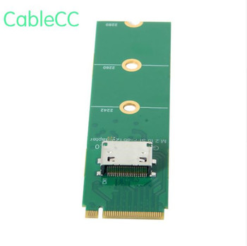 PCI-E 3.0 M.2 M-key to Oculink SFF-8612 SFF-8611 Host Adapter for PCIe Nvme SSD