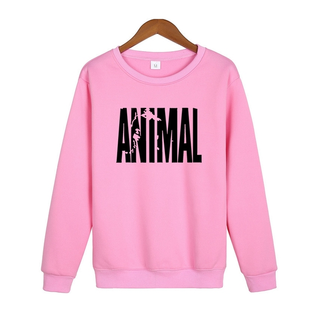 f9f4a33f9099 Animal Sweatshirt Streetwear Hip Hop Rock Hoodie Mens Tracksuits Pullovers  Cheap Crewnecks Sweatshirts Moleton