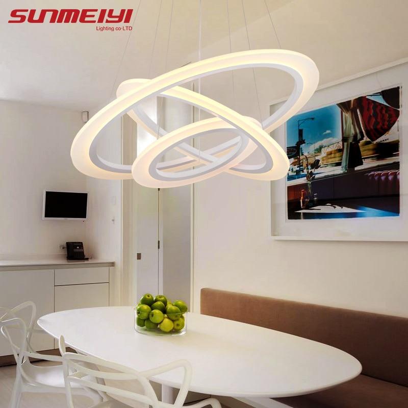 2019 Moderne LED hanglampen voor woonkamer lamparas de techo - Binnenverlichting