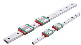 2PCS 12mm linear guide MGN12 L 700mm linear rail with 4pcs MGN12H linear carriages block for CNC DIY and 3D printer XYZ cnc