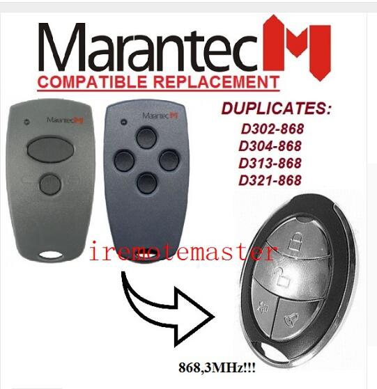 Marantec D302,d304 868mhz Replacement Remote Control Fine Home Electronic Accessories
