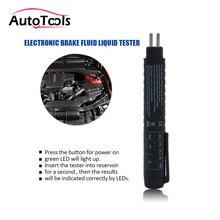 Универсальный Авто Автомобиль инструменты светодиодный мини электронный Тормозная жидкость тестер ручка диагностические инструменты