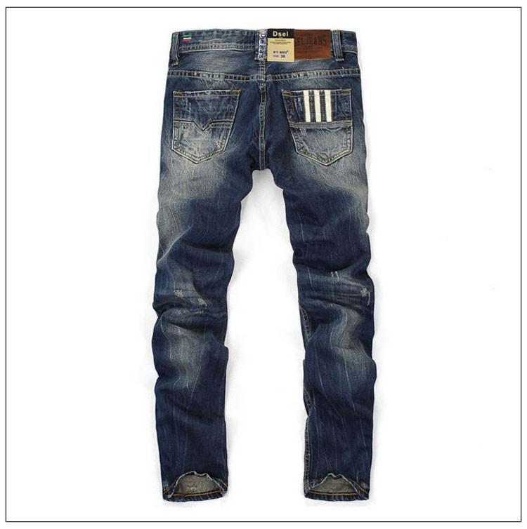Nööbitavad meeste teksapüksid