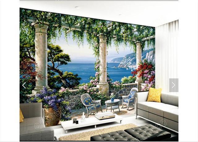 Online-Shop Kundenspezifische 3D Fototapete 3D Wandbilder