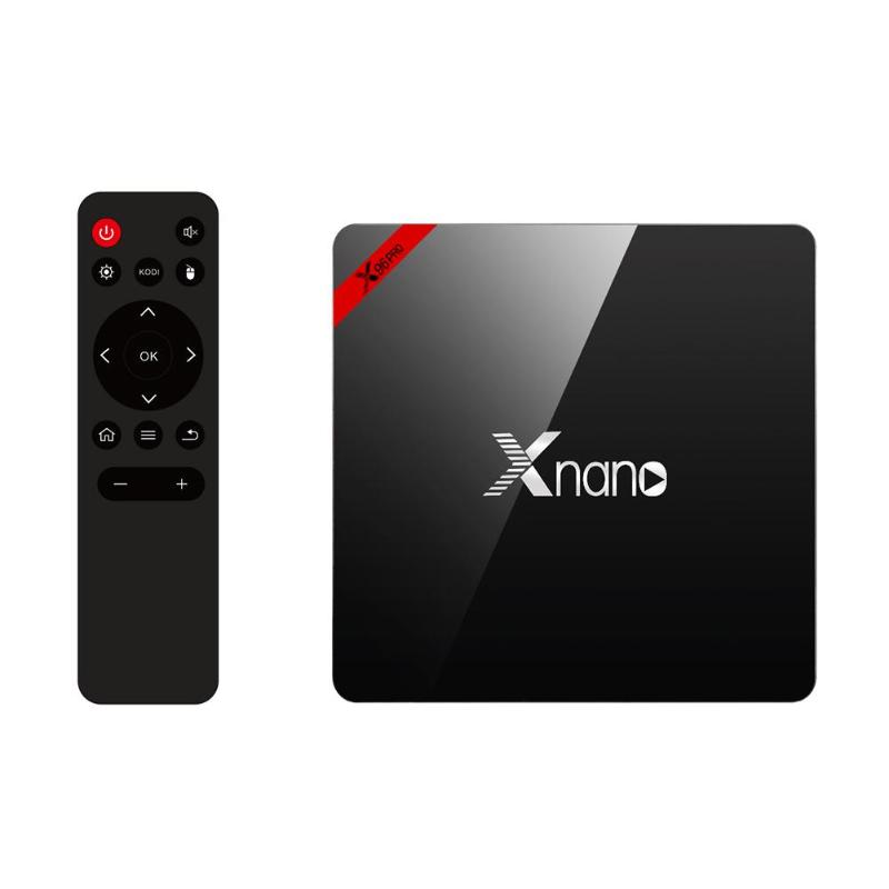 все цены на X96 PRO S905X OS Android 6.0 Smart TV BOX Amlogic Quad Core 2G/1G RAM 16G/8G ROM HDMI 4K*2K HD BT4.0 2.4G Wireless Set Top Box онлайн