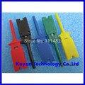 Frete Grátis 10 pcs Teste Ganchos Grampos para Logic Analisadores lógicos Test Clip 5 Cores: Vermelho Preto Verde Amarelo azul