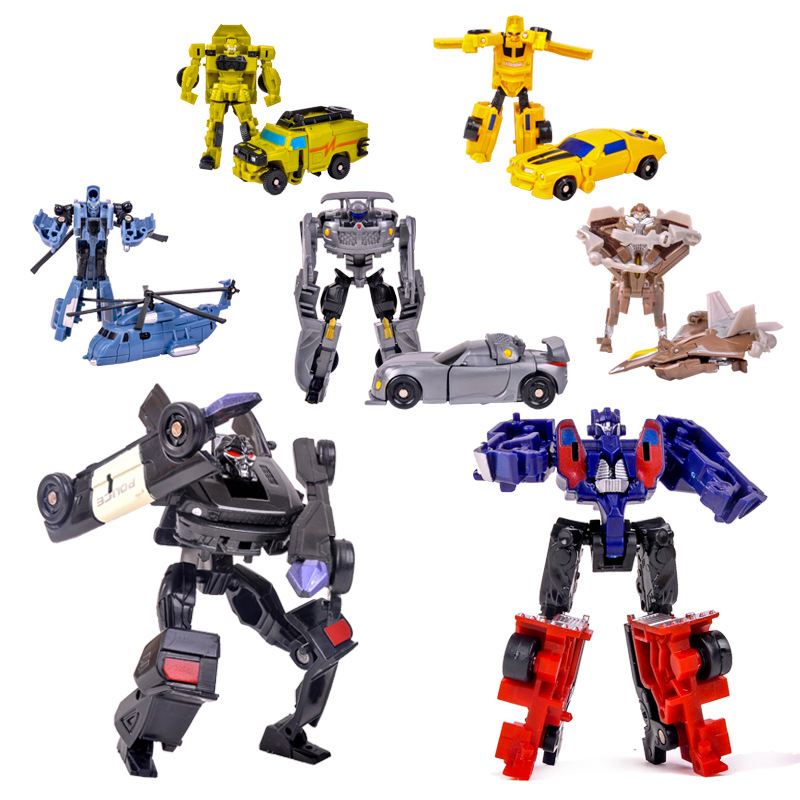 Toys Cartoon Transformation Robot Model-Gifts Action-Figures Classic Education Anime