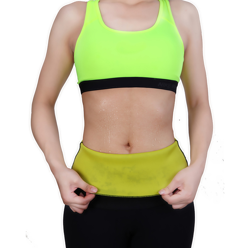 c90e1d49a1b Hot Body Shaper Neoprene Slimming Belt Tummy Control Shapewear Stomach Fat  Burner Best Abdominal Workout Sauna Waist Trainer-in Waist Cinchers from ...