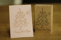 Christmas Stamp Tree 8 5cm Tinta Sellos Craft Wooden Rubber Stamps For Scrapbooking Carimbo Timbri