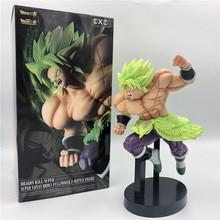 Dragon Ball Z Super Broly Movie Ver. Зеленые волосы против Гоку броли Супер Saiyan боевой формы ПВХ Фигурки Модель DBZ 24 см
