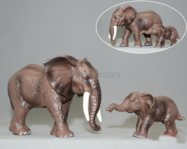 African Elephant Toys For Boys : Chengke toys lx male elephant action figure doll toy kit