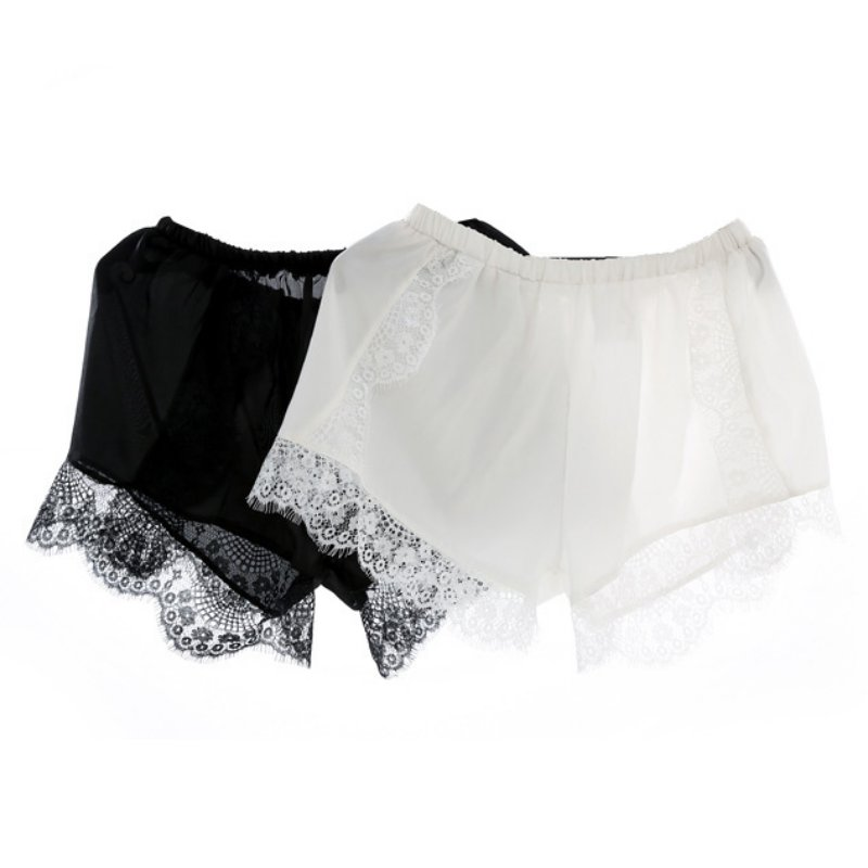 ZH Ladies Sexy   Shorts   Summer Women High Waist Casual Lace   Shorts