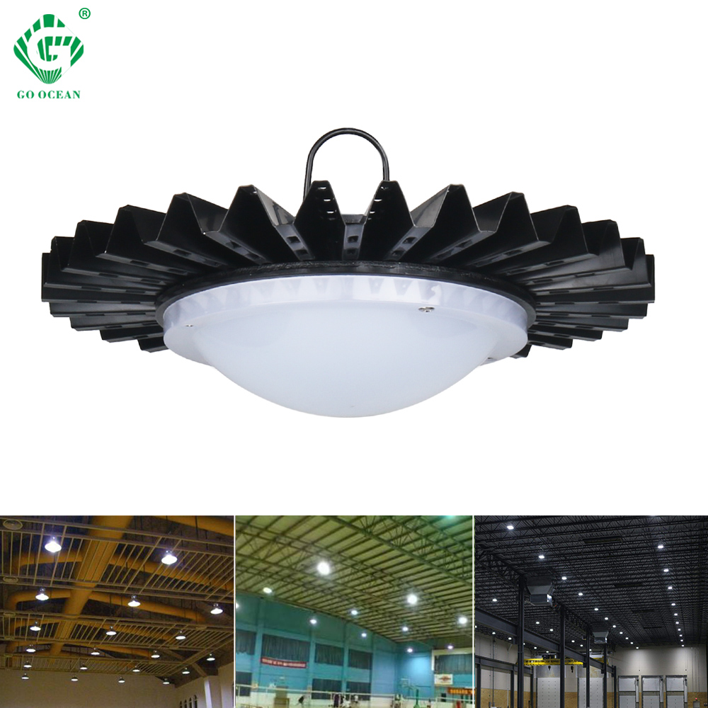 GO OCEAN UFO LED High Bay Light 50W For Warehouse Football Field Industrial Lights Workshop 220V 230V 240V Lamps