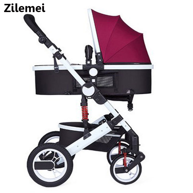 Steel Frame Eva Wheels Easy To Repair Nice Sld Baby Stroller Scientific Design Folds Easily And Conveniently 0-3 Years 7 Kg Carrying Capacity 25 Kg Four Wheels Stroller