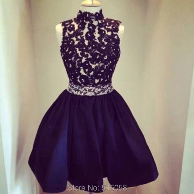 Como hacer vestido negro de encaje