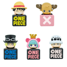 One Piece Mini Dust Plugs figures 5pcs set