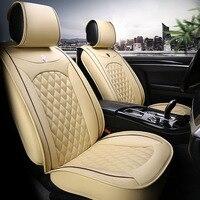 Универсальный кожаный автомобильные чехлы на сиденья для Suzuki Swift универсал GRAND VITARA Jimny Liana 2 седан Vitara sx4 авто аксессуары для укладки