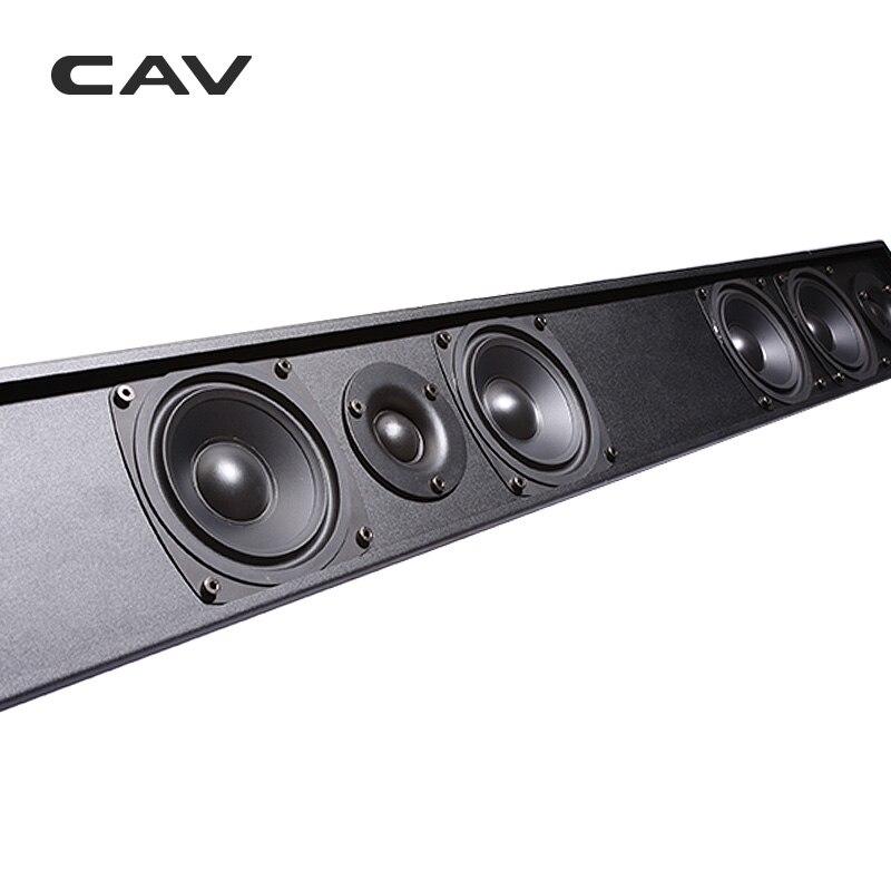 Электрические плиты CAV AL210 пассивный динамик Саундбар Колонка проводной 3,0 канал двухсторонний домашний кинотеатр пассивный динамик s Professinal ТВ динамик кино (Фото 2)