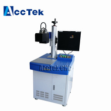 3D Dynamic Focusing 30W 50W Fiber Laser Marking Machine for Uneven Surface