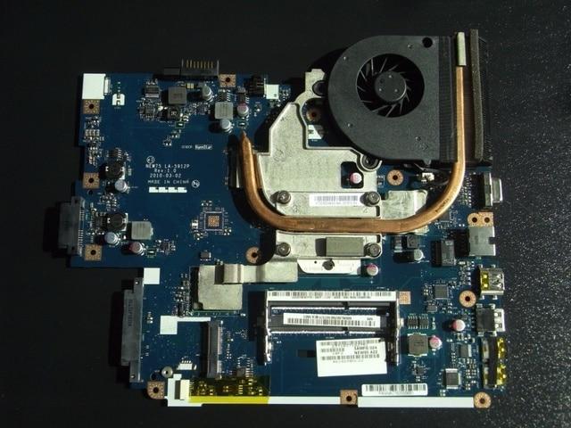 MBBL002001 Bo Mạch Chủ Cho ACER Aspire 5551 LA-5912P với tản nhiệt thay vì 5552 gam LA-5911P tương thích và miễn phí CPU