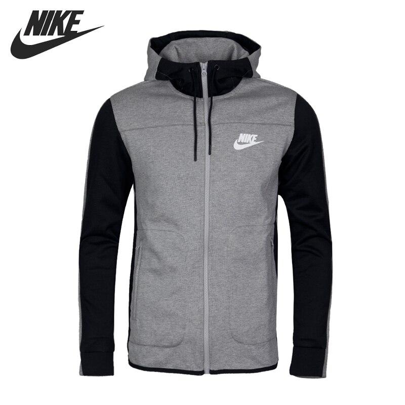 tempo Felpa esecuzione con 2017 sportiva in originale Nike uomini con Nuovo arrivo cappuccio sport Giacche libero Flc giacca e cappuccio in Av15 Fz Nsw XZuOPik