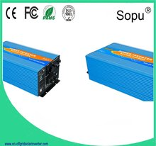 FREE SHIPPING LCD Display 5000W/5KW Pure Sine Wave Power Inverter/AC CHARGER/MPPT CABLE